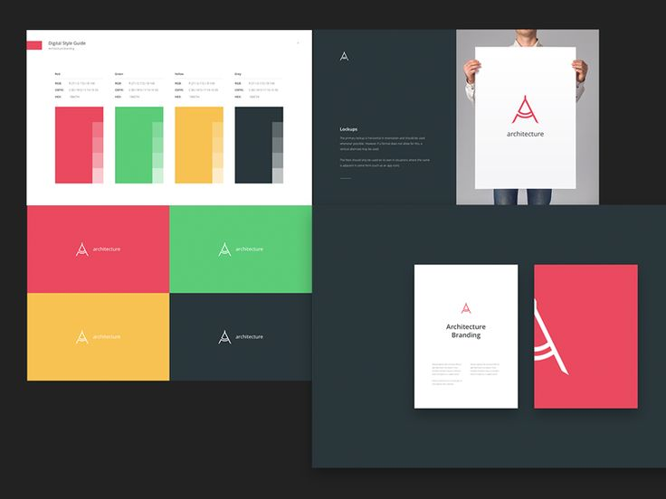 Branding Book & Style Guide Templates by UI8