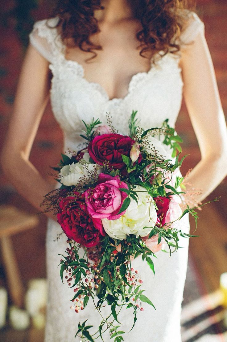 Wedding bouquets boho