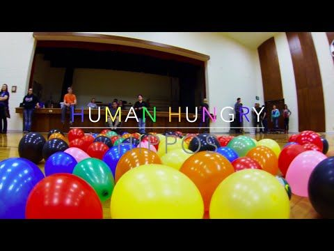 This Video Of Human Hungry Hippos Will Fulfull Your Childhood Dreams