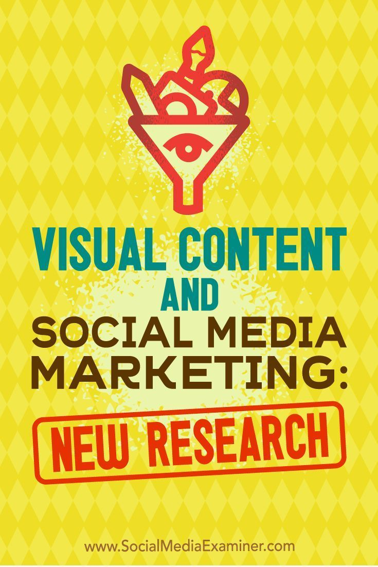 In this article, you'll discover new research that reveals why you should include visuals in your marketing, and insights on the types of visual content marketers are focusing on.