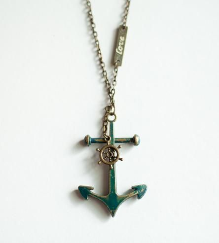 Anchored By Love Necklace