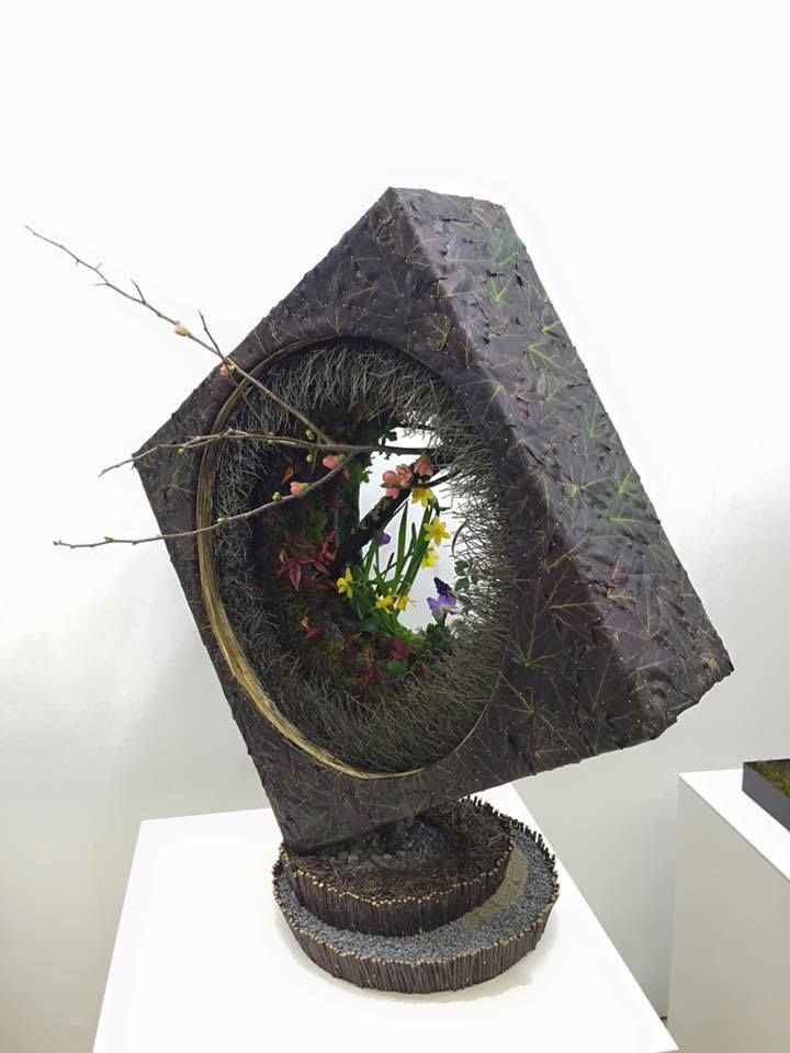 South African Flower Union FB post: Japan Flower Design Award 2016
