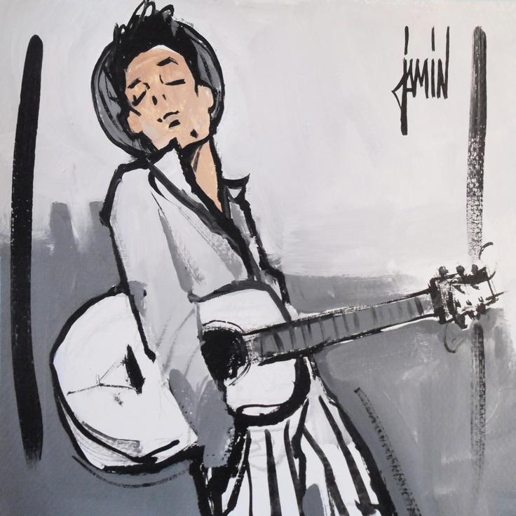 David Jamin, Guitare