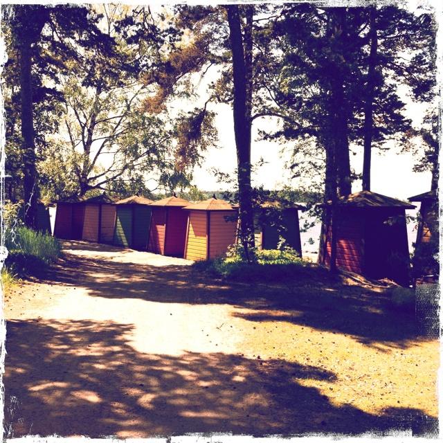 Beach huts, Pihlajasaari