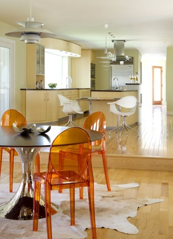 Orange Kitchen Chairs