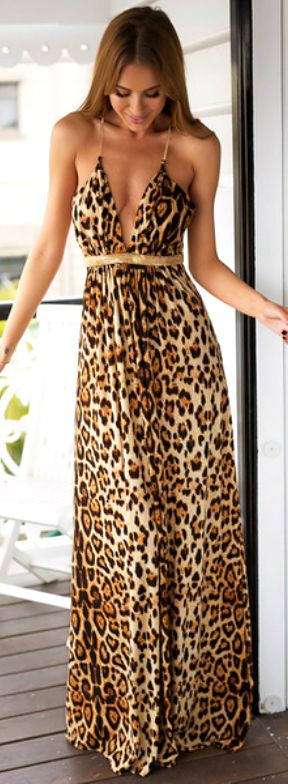 Leopardo/ animal print