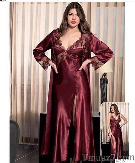 95b97db12 قمصان نوم حرير للعرايس جديد 2018 - - | Berenice | Camisas de seda ...