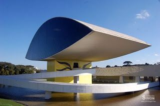 Rafaela Torres: Oscar Niemeyer - Museu do Olho - Curitiba - Paraná - Brasil