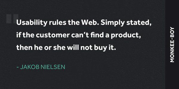 Classic UX advice from Jakob Nielsen