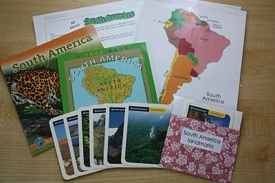 Latin America: create a goodie bag to help your kids learn about the continent