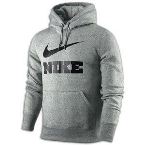 Nike Classic Fleece Swoosh PO Hoodie   Mens   Casual   Clothing