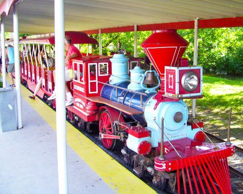 Tractor Train Rides : Images about garden tractor eguipment on pinterest