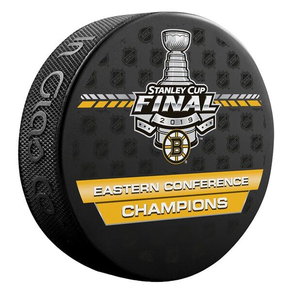Boston Bruins Fanatics Authentic Unsigned Inglasco 2019 Eastern Conference Champions Hockey Puck Bostonbruins With Images Boston Bruins Hockey Puck Champions Hockey