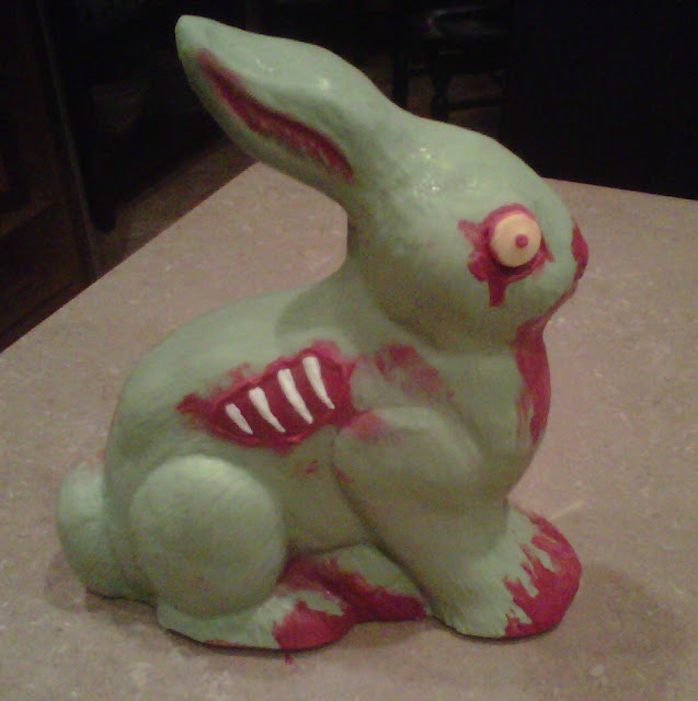 126 best easter all zombie easter images on pinterest plants vs stephani schuchart i found a diy recipe for zombie chocolate bunnies screw paying out negle Choice Image