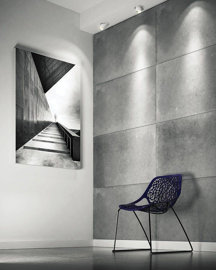 Panel imitujący beton Loft  - Concrete dove grey