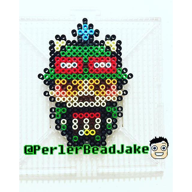 Teemo - League of Legends perler beads by perlerbeadjake