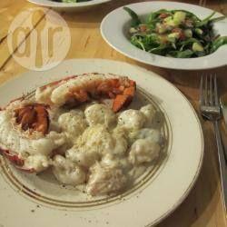 Gnocchi Mit Hummerschwänzen   Ein Festliches Essen Für Zwei Personen,  Perfekt Für Den Valentinstag Oder