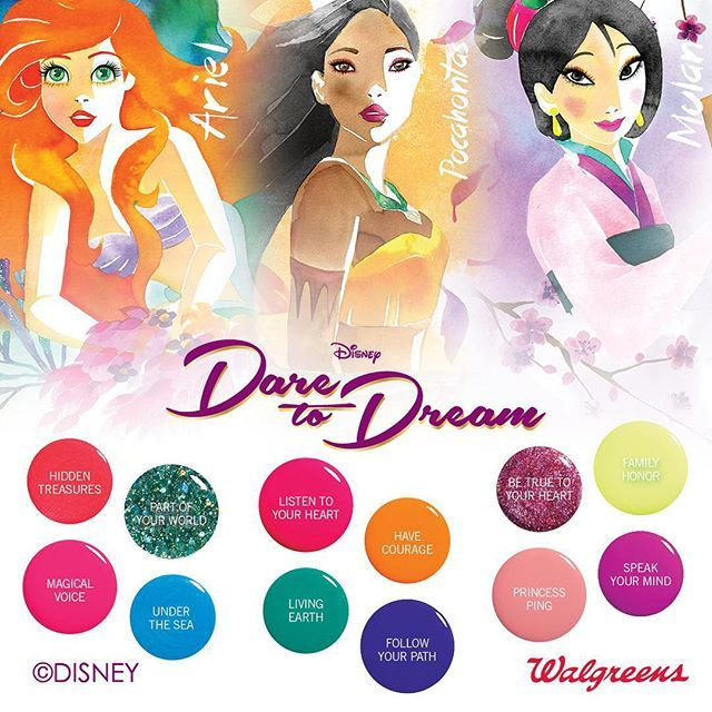 Mulan Inspired Nails: 15 Best Orly Disney Nail Polish Collections Images On