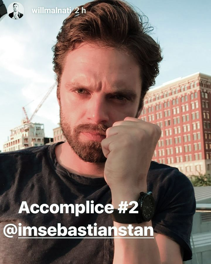 "1,864 Likes, 15 Comments - Sebastian Stan Fanpage ♡ (@sebstanforyou) on Instagram: ""Seb on Will's IG stories #sebastianstan"""