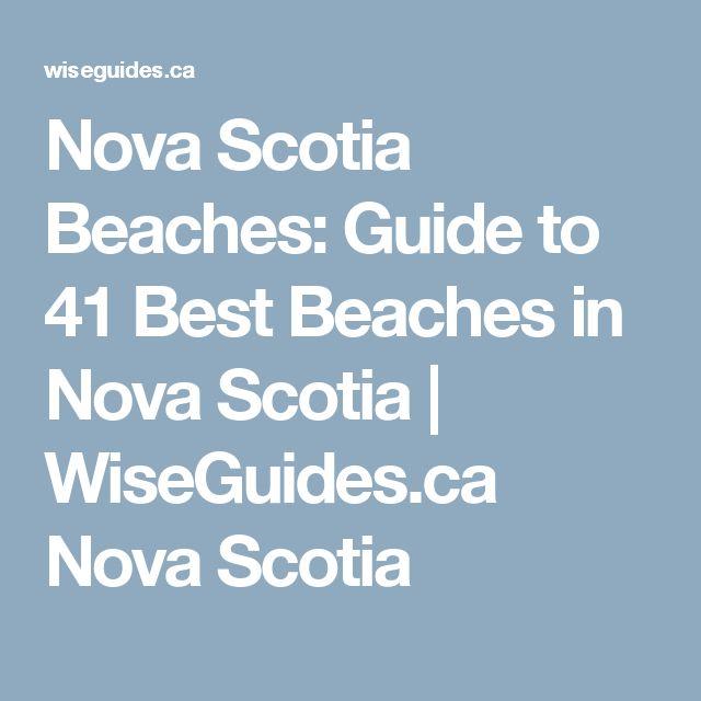 Nova Scotia Beaches: Guide to 41 Best Beaches in Nova Scotia   WiseGuides.ca Nova Scotia
