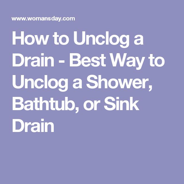 17 best ideas about unclog shower drains on pinterest shower drain cleaner diy drain cleaning. Black Bedroom Furniture Sets. Home Design Ideas