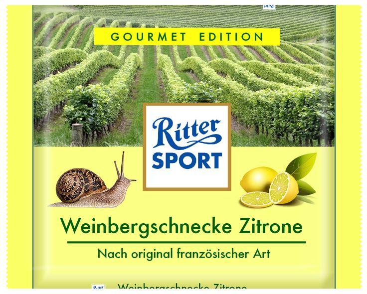 Ritter Sport - Weinbergschnecke Zitrone