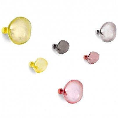 Patères en verre soufflé Bubble - Petite friture