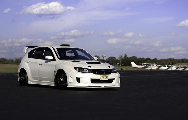 Subaru STi...Not half bad for a hatchback!