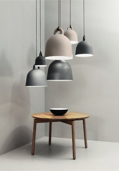 Lighting | Bell Pendant Lamp, designed by the Danish duo Andreas Lund and Jacob Rudbeck for Normann Copenhagen