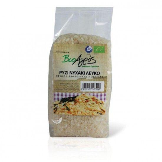 biotrofi.gr- Βιολογικό ρύζι μακρύ λευκό 500γρ Βιοαγρός