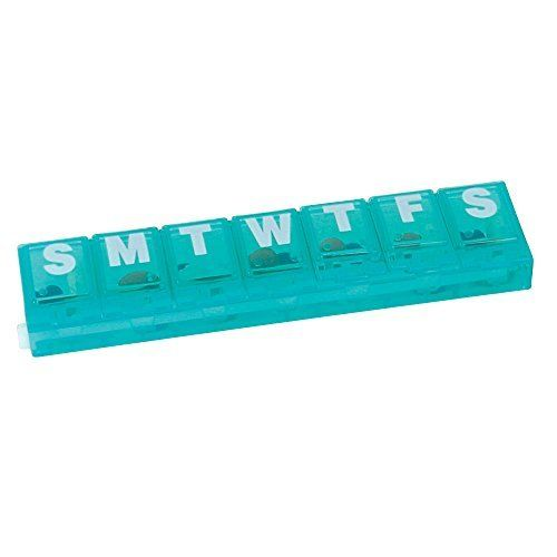 Apothecary Products Locking Weekly Pill Planner (Small)