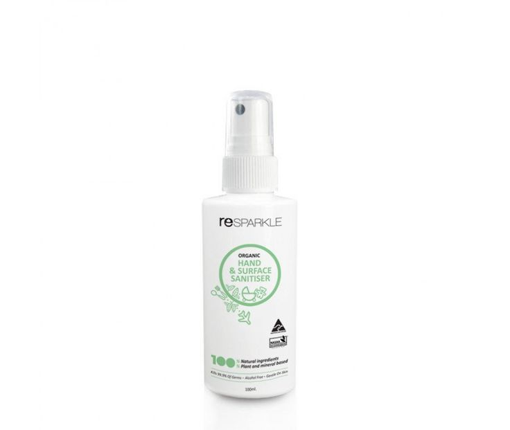 Organic Hand & Surface Sanitiser 60ml