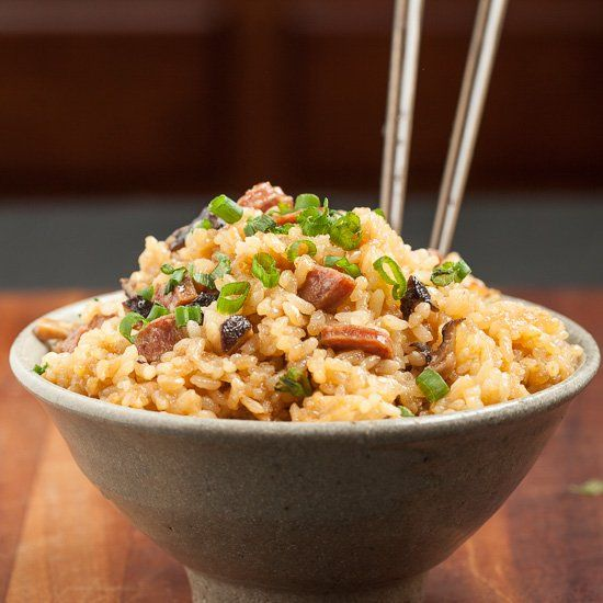 Chinese Sticky Rice -  It's unbelievably easy to make a big, scrumptious pot of this.  Chinese New Year or anytime of year! (GF)