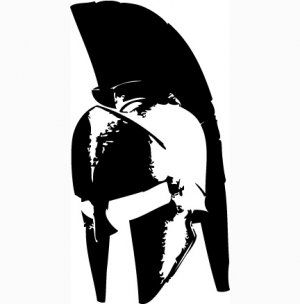 300 Spartan Helmet Vinyl Decal For Car Windows Laptops Walls Etc picture
