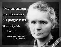 Madam Curie...