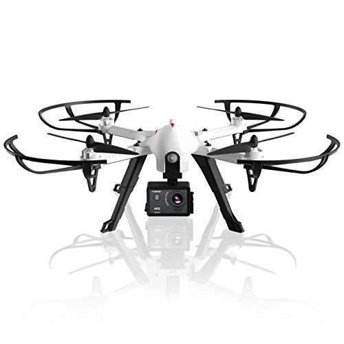 Quadcopter Drone HD Sports Action & Selfie Camera Brushless Motors 2 Batterries #QuadcopterDrone