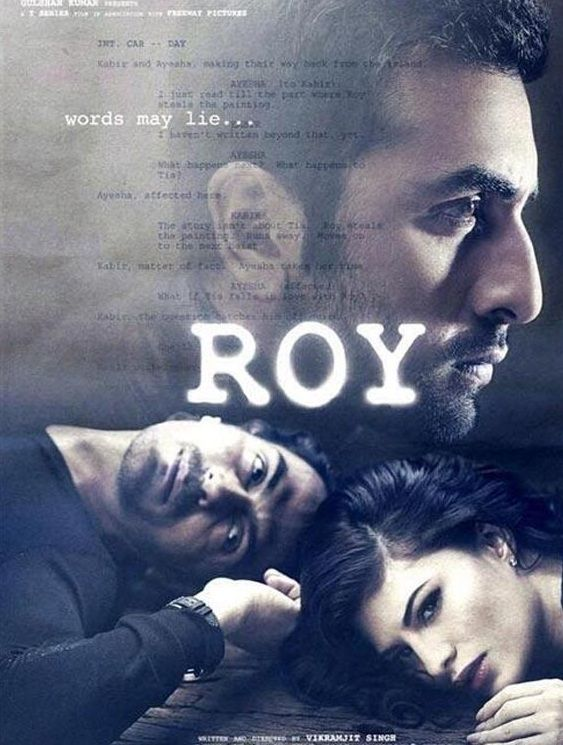 Roy is an upcoming 2014 Bollywood romantic action thriller film directed by debutante Vikramjit Singh and produced by Bhushan Kumar of T-Series. The film will feature Ranbir Kapoor, Jacqueline Fernandez and Arjun Rampal in lead roles, and is slated for a June 20, 2014 release. #bollywood #movies #movies2014 #cinema #films