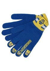 DESPICABLE ME ~ Knitted Gloves | Little Gecko
