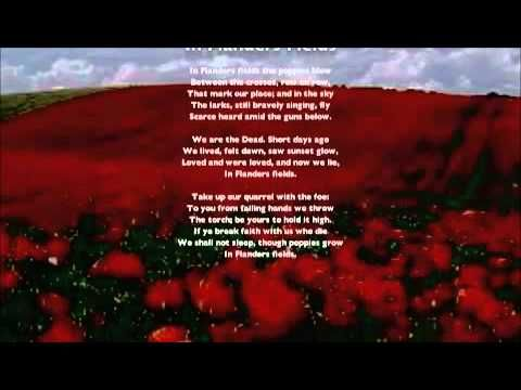 In Flanders Fields Song New Melody