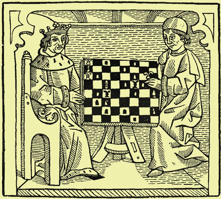 A History of Chess | The Game and Play of Chess, a Morality Play: 1474