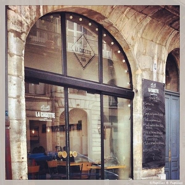 BUCKET LIST: FRANCE ~ EAT at La Cagette - Restaurant - Bordeaux