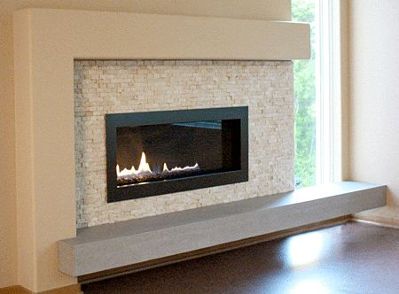 Floating Hearth Example In 2020 Fireplace Remodel