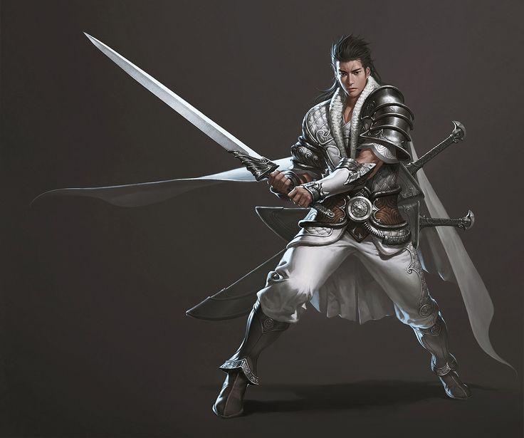 ArtStation - The Oriental Knight, Junggeun Yoon