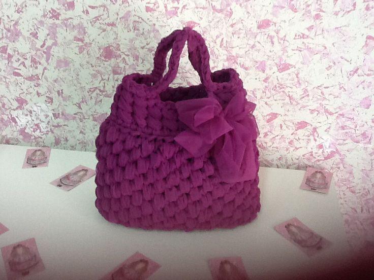 """""""DIVINA""""  é la borsa realizzata in tulle....... Leggera, romantica e preziosa!!!!!!!!"""