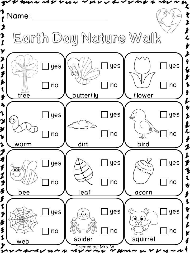 Earth Day nature walk.