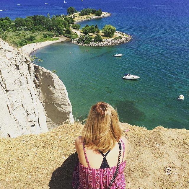 Sunday• exploring #scarboroughbluffs #relaxingtime 9 hidden gems in Ontario