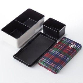 Medium Size Checkered Bento Boxes