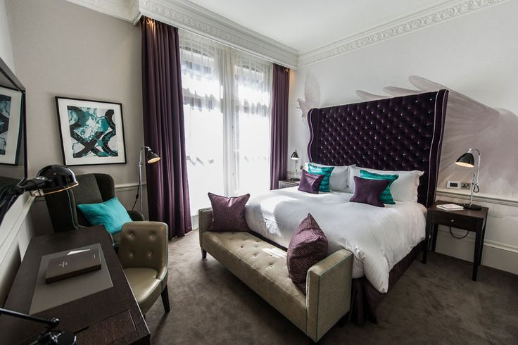 Brand new boutique retreat in London... The Ampersand Hotel, South Kensington, London