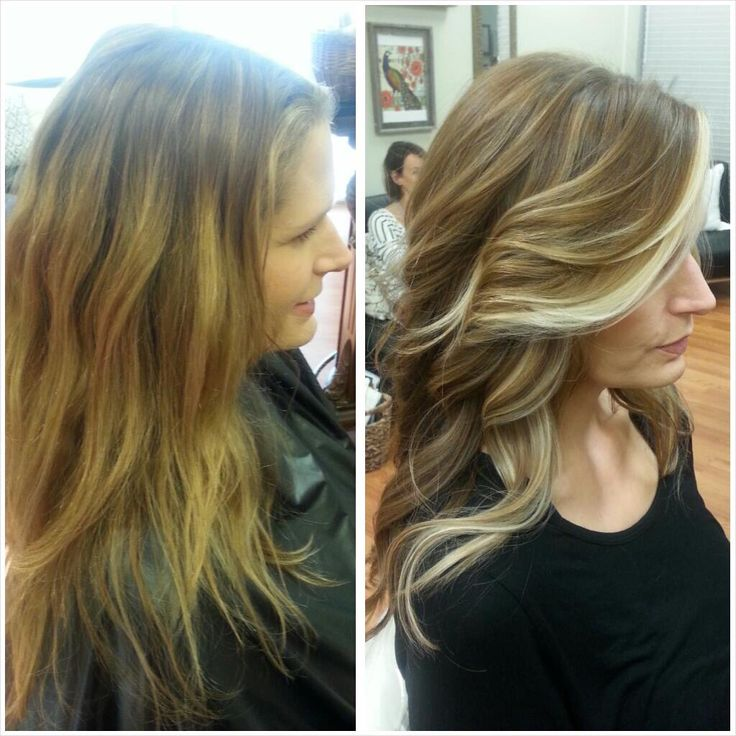 Poise Salon Brown Hair With Blonde Highlights Hair