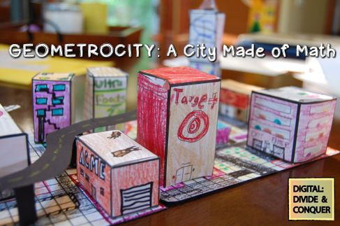 a Class*y Collaboration: A Confession: I Love Class Projects--Geometrocity
